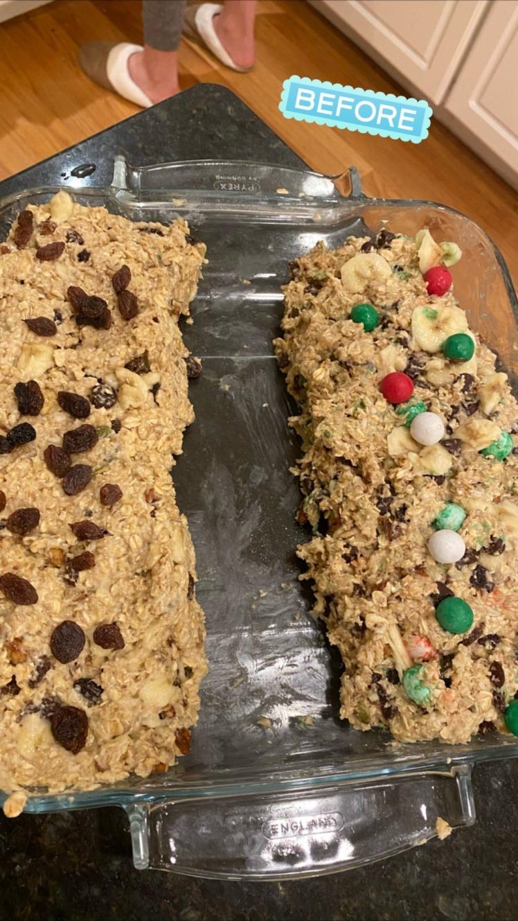 crunchie recipe_before