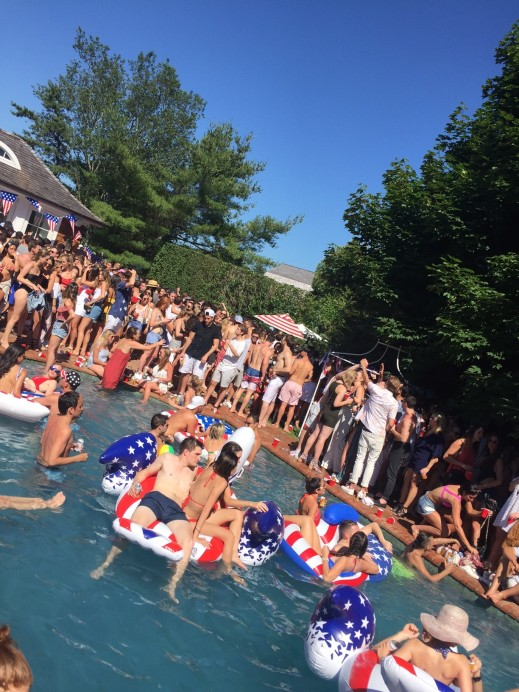 July 4th pool party