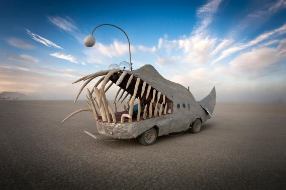 Sculpture at Burning Man