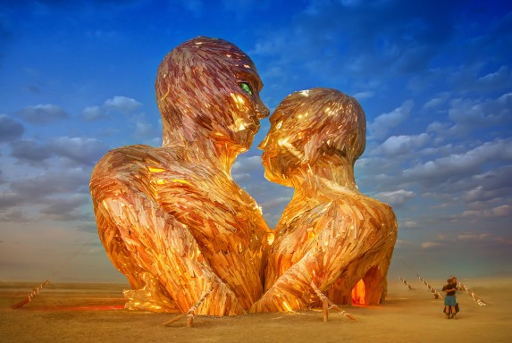 Burning Man Heads