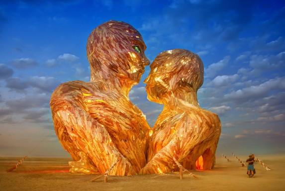 Burning Man Heads