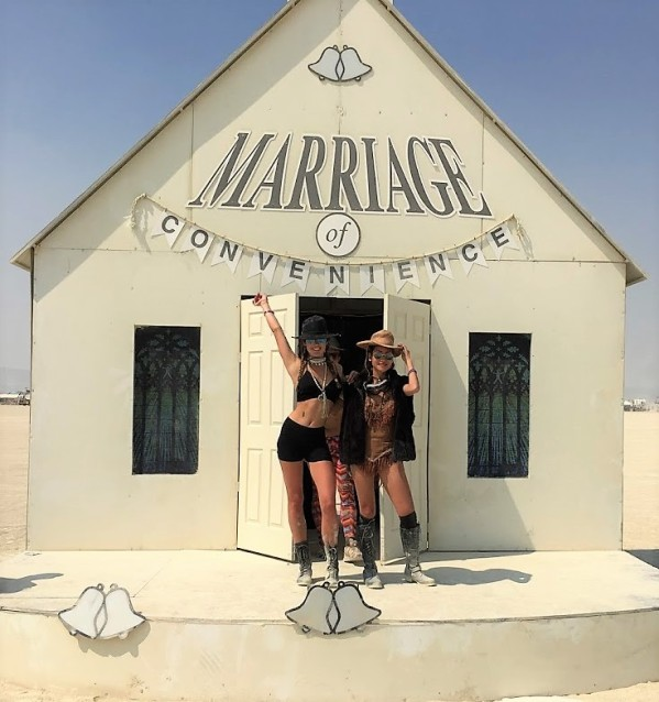Marriage at Burning Man