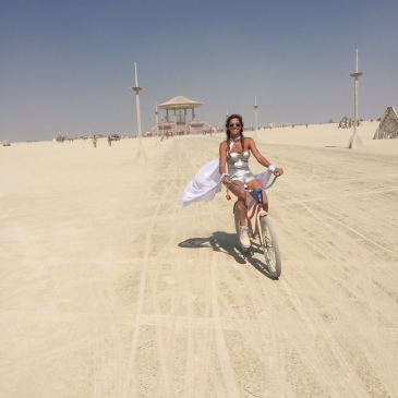burning man bike