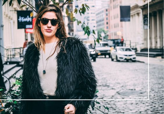 HOW TO ROCK FAUX FUR