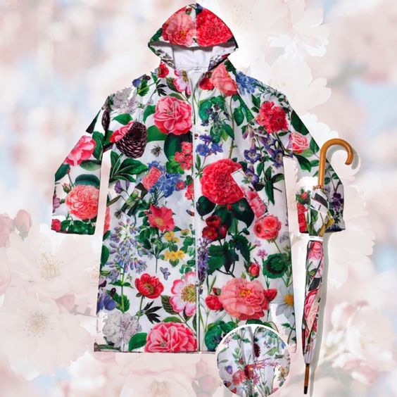 Jacaranda Living raincoat for mother's day