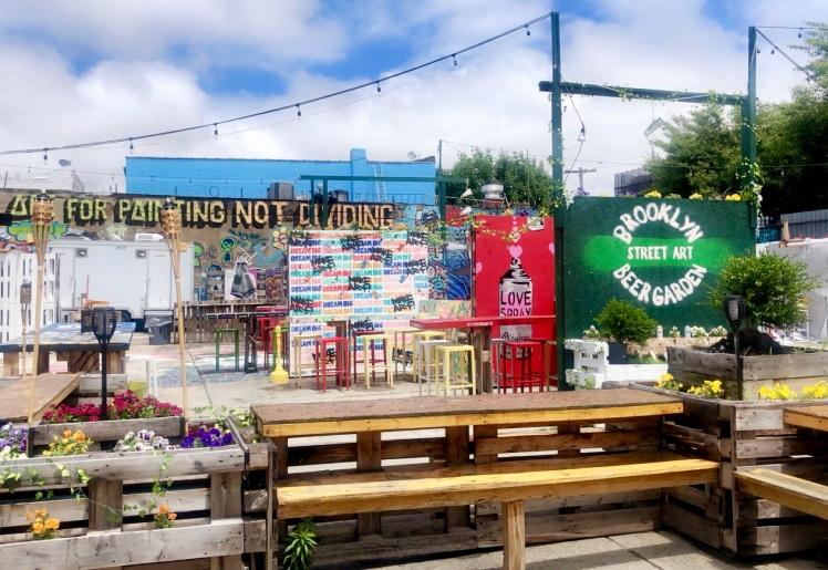 brooklyn beer garden art