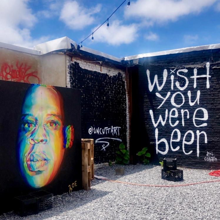 wish you were here art