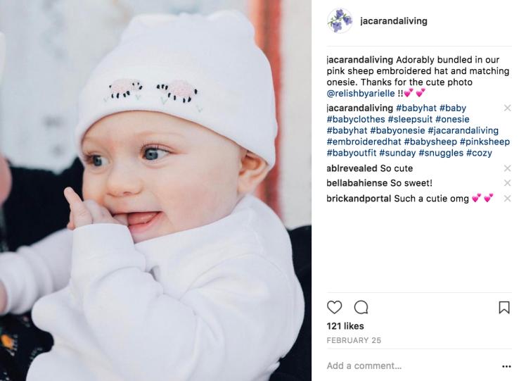 Jacaranda Living - Baby Photo - Social Media